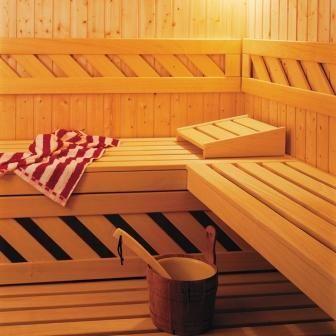 Le sauna chez les professionnels