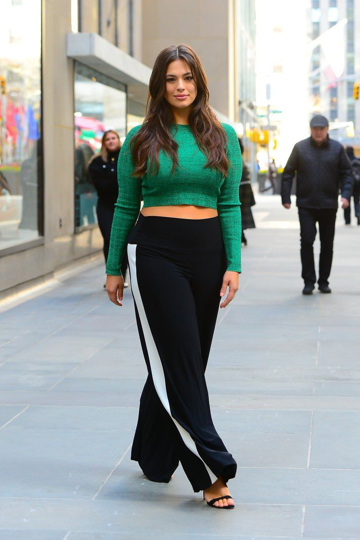 99e90dc2af5dcb Ashley Graham Wore the 1 Winter Outfit That Models Just Can t Get Enough Of