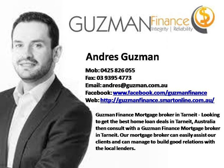 Guzman Finance Biggest Mortgage broker in Tarneit - Looking to get the best home loan deals in Tarneit, Australia then consult with a Guzman Finance Mortgage broker in Tarneit. Our mortgage broker can easily assist our clients and can manage to build good relations with the local lenders.