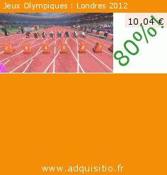 Jeux Olympiques : Londres 2012 (Jeu informatique). Réduction de 80%! Prix actuel 10,04 €, l'ancien prix était de 49,99 €. http://www.adquisitio.fr/sega/jeux-olympiques-londres-1