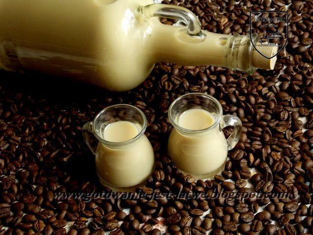 Gotowanie jest łatwe: Likier kawowy
