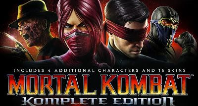Mortal Kombat Komplete Edition Cheat Codes