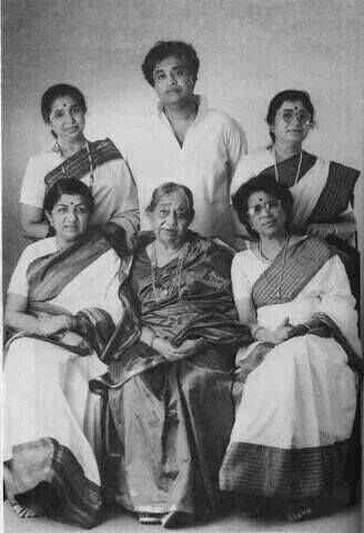 Lata Mangeshkar and the Mangeshkar family