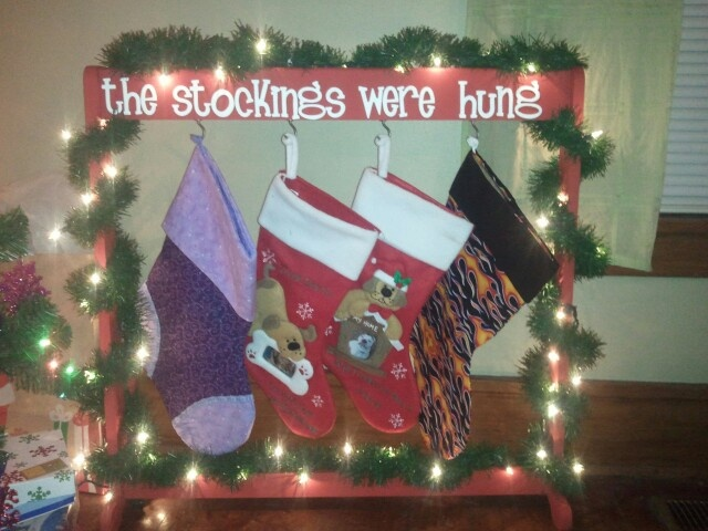 9 best stocking holders images on pinterest christmas for Best stocking holders