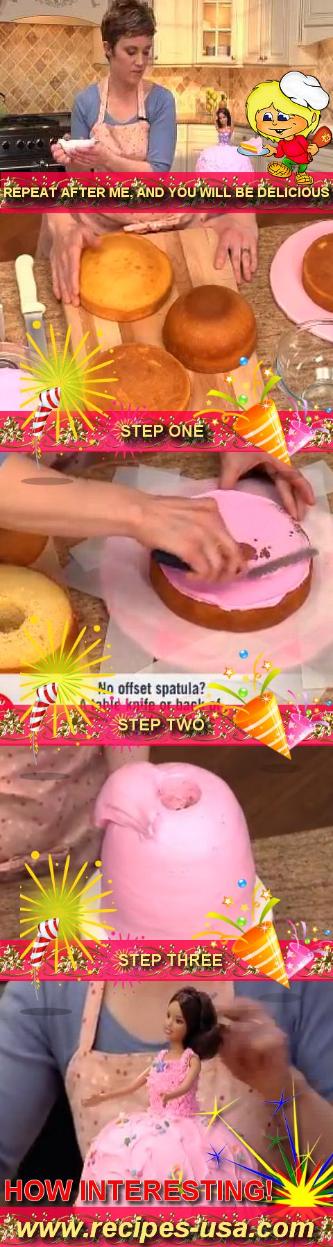 Узнайте, как легко это, чтобы испечь торт принцесса на следующей вечеринке по случаю дня рождения для более большие рецепты кулинарные посетить чистая...