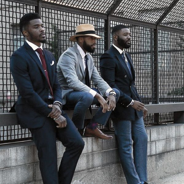 Cool Professional Dapper Beard Styles For Black Men http://www.99wtf.net/men/mens-hairstyles/classic-men-hairstyles-that-fashion/