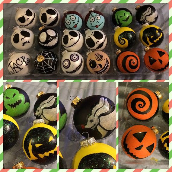 Hand painted nightmare before christmas by artbybellesoleil