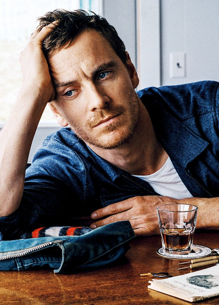 Michael Fassbender - German + Irish = Pretty Perfect
