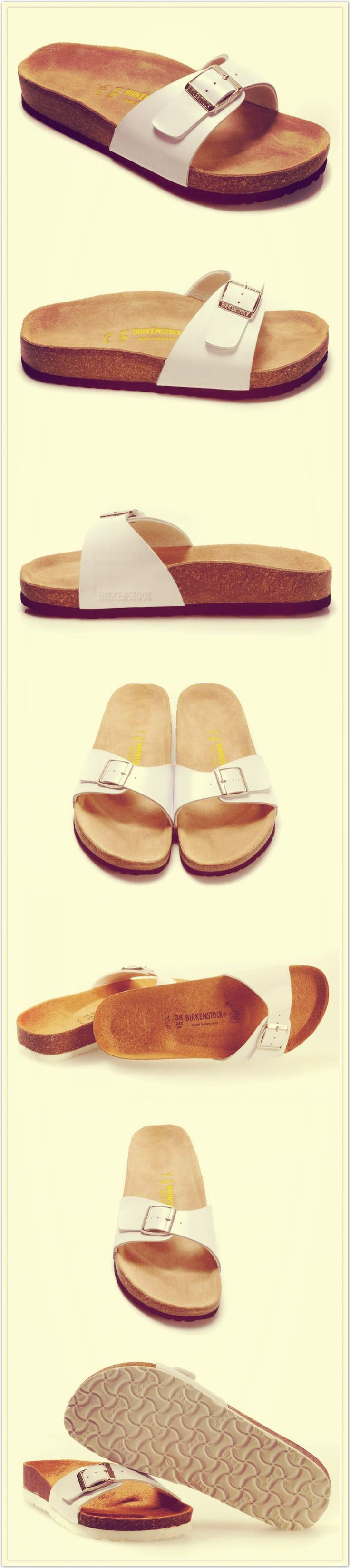 It's pretty cool (: / Womens Birkenstock Madrid Sandals OUTLET...$34!