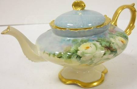 Nice 1951 Artist Signed Loma PR China Tea Pot