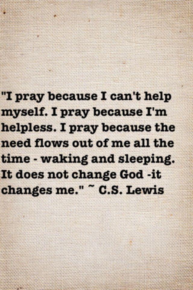 ceaseless praying