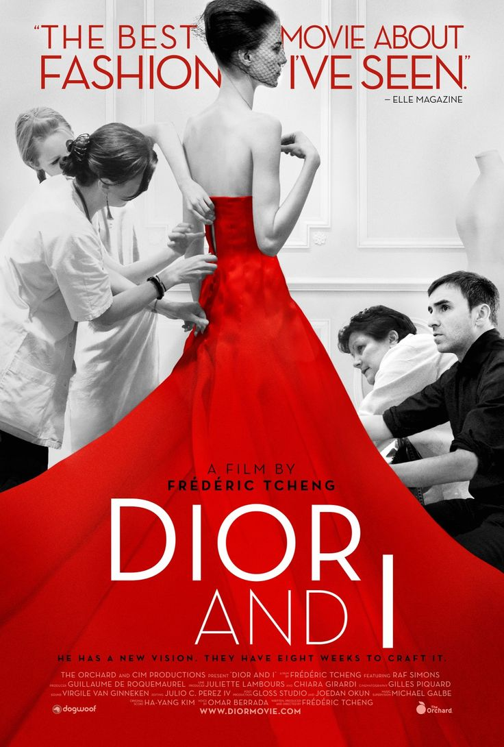 Dior and I. 'The best movie about fashion I've ever seen'