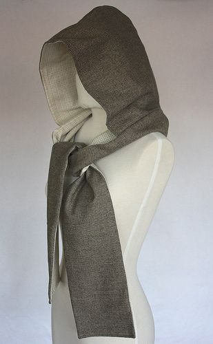 What We're Making! The Hooded Scarf from Jamie Christina