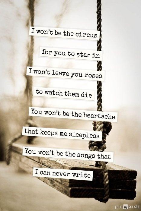 lyrics that shoot straight to the soul!