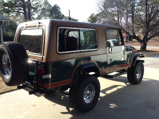 1984 Jeep Cj8 Scrambler With Full Hard Top And Hard Doors