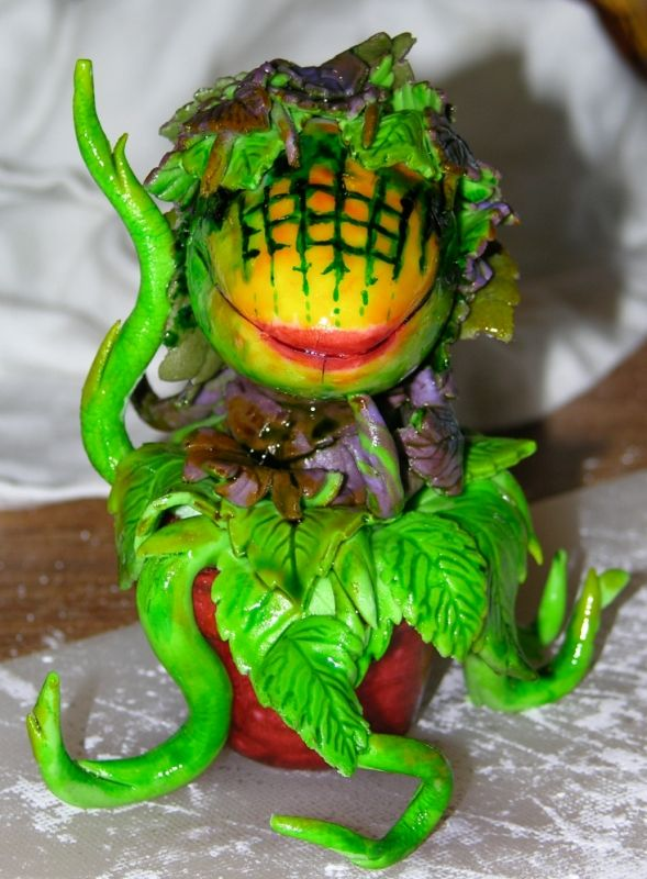 Alien Film Festival - Audrey II, freshly painted