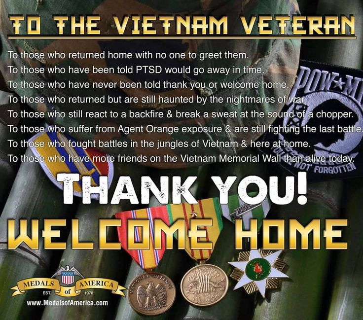 Thank you for your service and may God bless and keep you.
