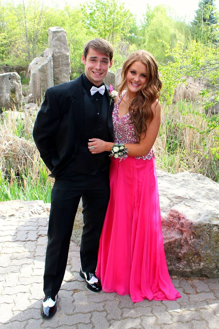 Pink formal dress, Prom, Tux, Boyfriend Picture, Love ...