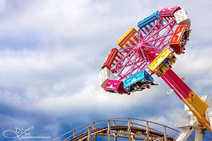 fairground ride by DaniPress Photography