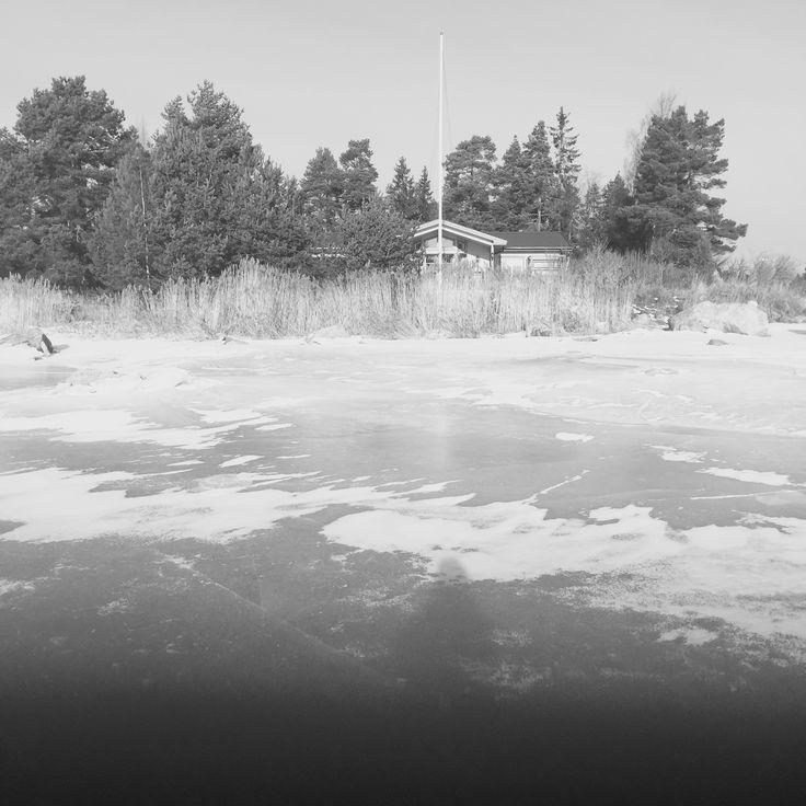 Majudden i vinterskrud