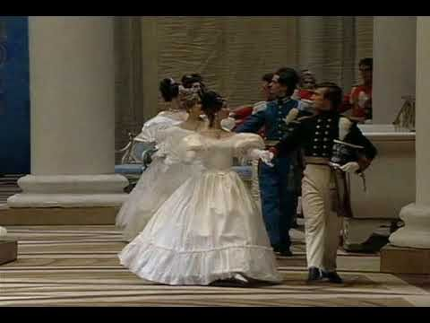 Evghenii Oneghin Opening Act III Polonaise Bolshoi Theatre