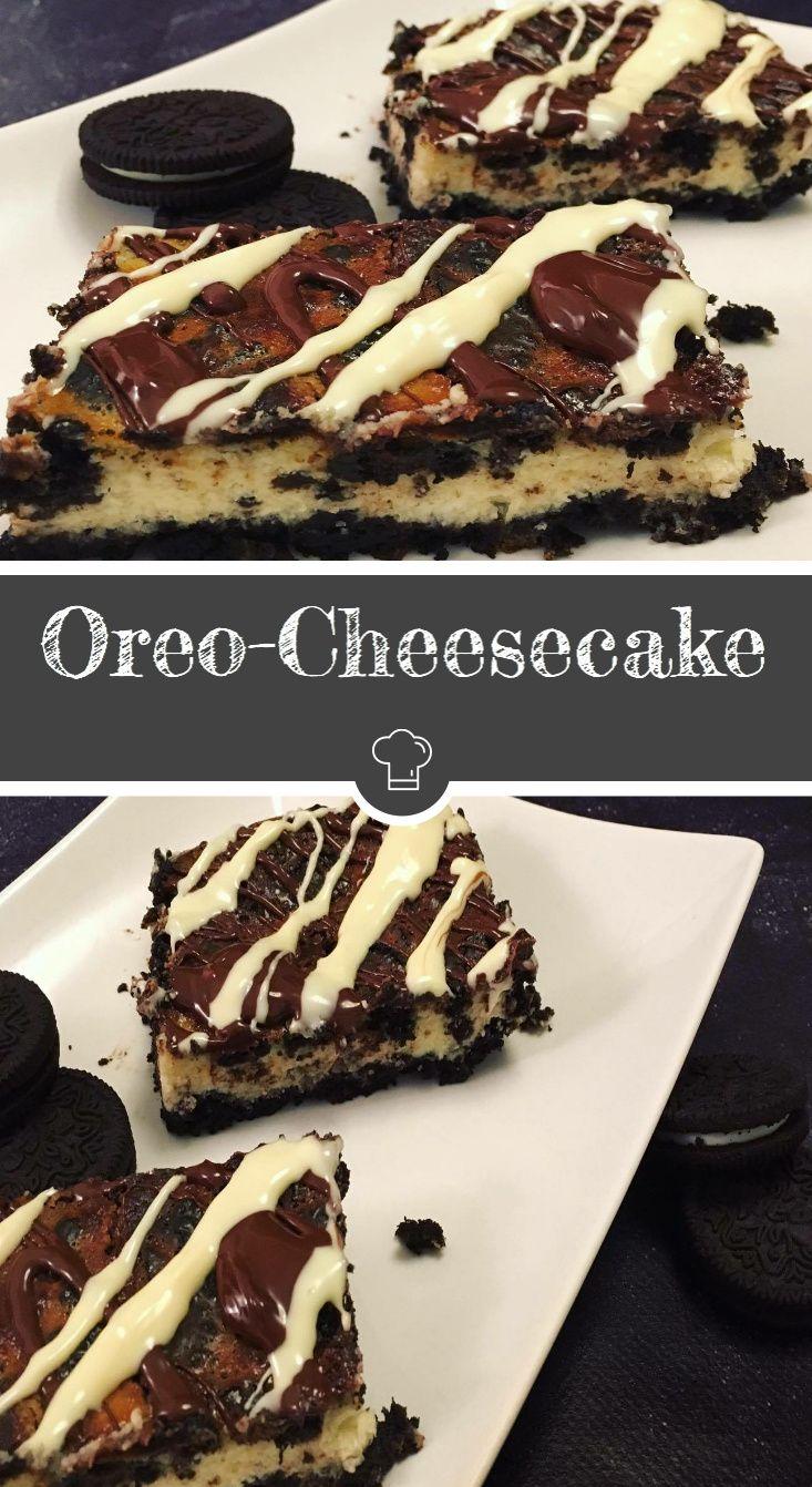 Einfach göttlicher Oreo-Cheesecake!