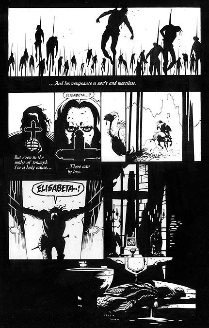 Bram Stoker's Dracula, Issue 1 page 2
