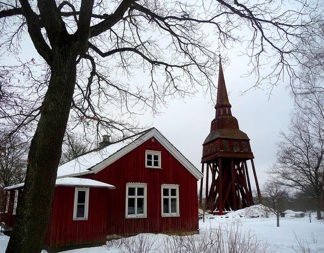 Resultat d'imatges de skansen stockholm snow