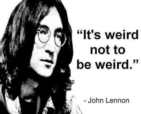 John Lennon quote via www.Facebook.com/WildWickedWomen