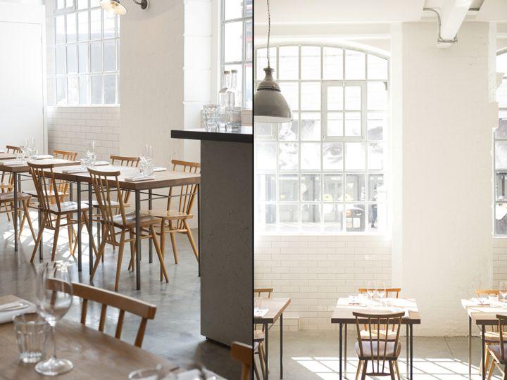 Lyle's restaurant by B3 Designers, London - UK