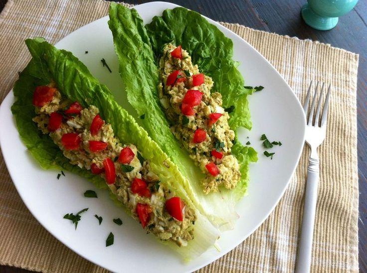 Avocado egg salad...paleo style!