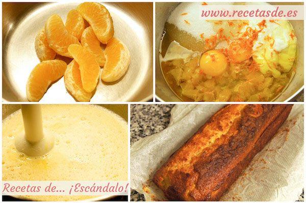 Cómo hacer la receta de bizcocho de naranja esponjoso, casero y fácil