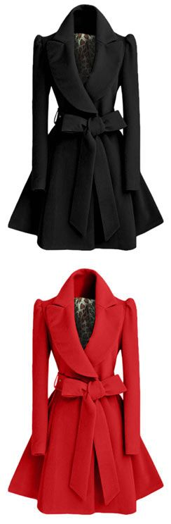 Have you been touched by this Lovely woolen coat? Now here for you. What are you waiting for ? Shop this look at CUPSHE.COM