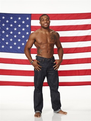 Olympic Wrestler Jordan Burroughs.. Can't wait till August 10th to watch him win gold!