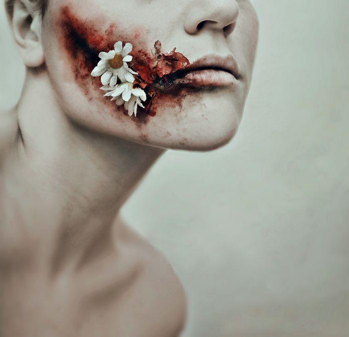 Cristina Otero's Stunning (and Horrifying) Self Portraits