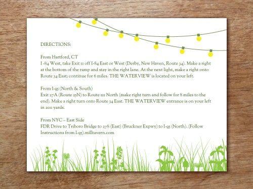 Best 25+ Wedding accomodation cards ideas on Pinterest Unique - invitation information template