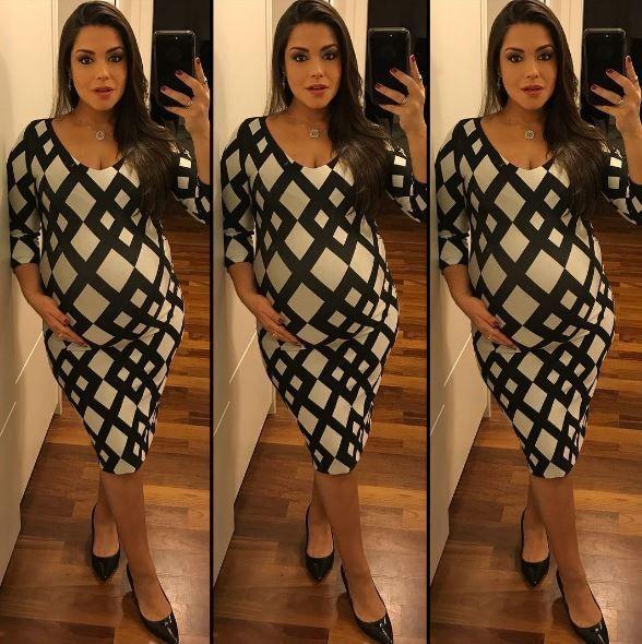Os looks de Thaís Fersoza na segunda gravidez