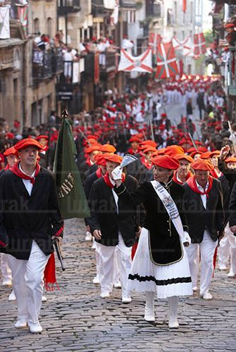 Alarde de Hondarribia. Gipuzkoa, Euskadi