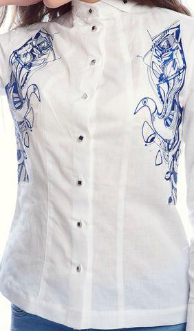 Сорочка жіноча біла з вишивкою арт. 928-14 09 купити в Україні і Києві -  відгуки 855a335c486af