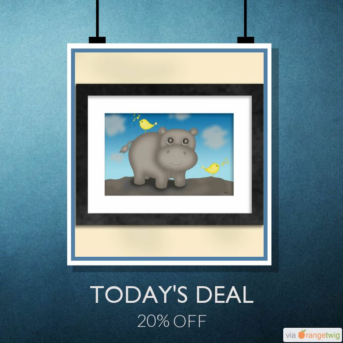 Today Only! 20% OFF this item.  Follow us on Pinterest to be the first to see our exciting Daily Deals. Today's Product: Sale -  Hippo with Birds Art Print Buy now: https://small.bz/AAfxnDK #etsy #etsyseller #etsyshop #etsylove #etsyfinds #etsygifts #musthave #loveit #instacool #shop #shopping #onlineshopping #instashop #instagood #instafollow #photooftheday #picoftheday #love #OTstores #smallbiz #sale #dailydeal #dealoftheday #todayonly #instadaily #instasale
