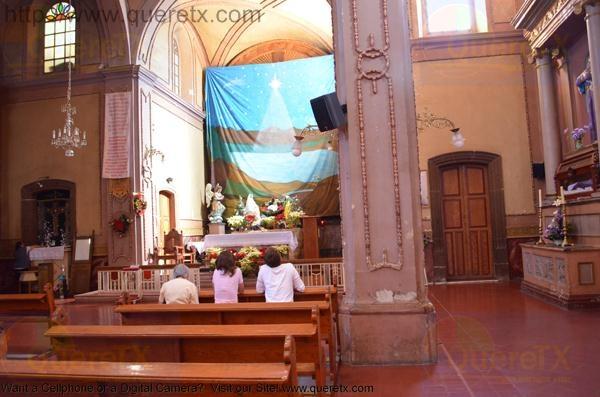 San Juan del Rio Church 2 days after Christmas