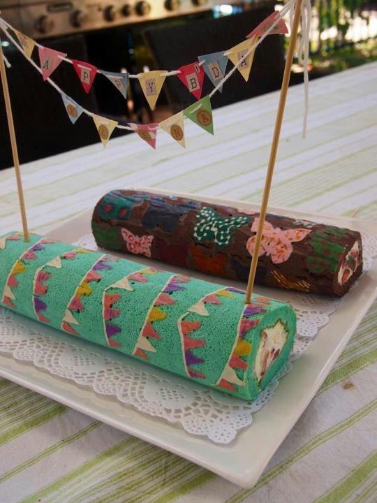 Rolls decorados piononos decorados