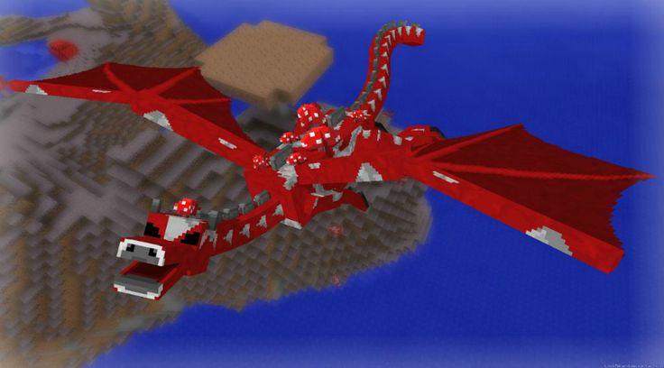 Half Mooshrooms Ender Dragon