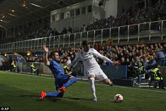 Real Madrid's Theo Hernandez