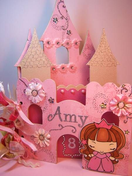 Anya Castle mini Album take 2 by dallirah1 - Cards and Paper Crafts at Splitcoaststampers