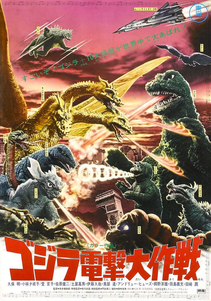 Godzilla Destroy All Monsters | Godzilla Final Wars Monsters