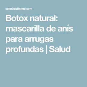 Botox natural: mascarilla de anís para arrugas profundas | Salud