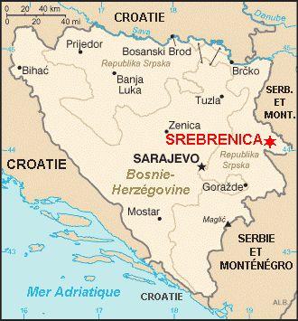 Juliol 2015: 20 anys de la massacre de més de 8.000 persones a Sebrenica, un acte de genocidi que encara no és reconegut com a tal per tots els països