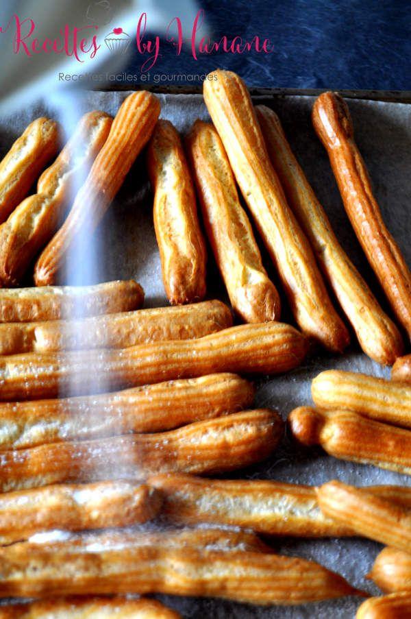 Bâtonnets de choux façon Churros (sans friture)