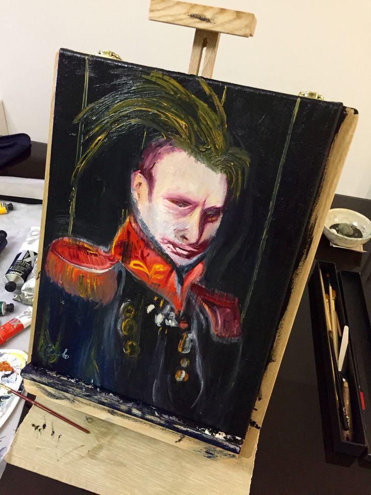Punk Putin - olio 30x40